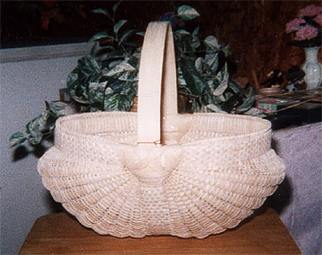 White Oak Basket - Workshop by Francis and Willard Glass